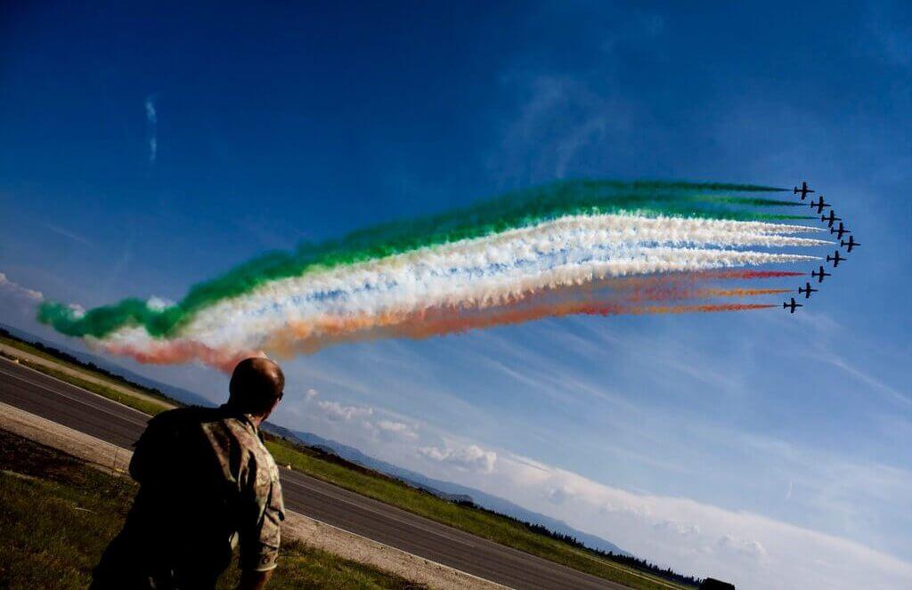 Italiaanse vlag Sardinie